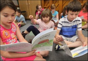 RSG kids share books